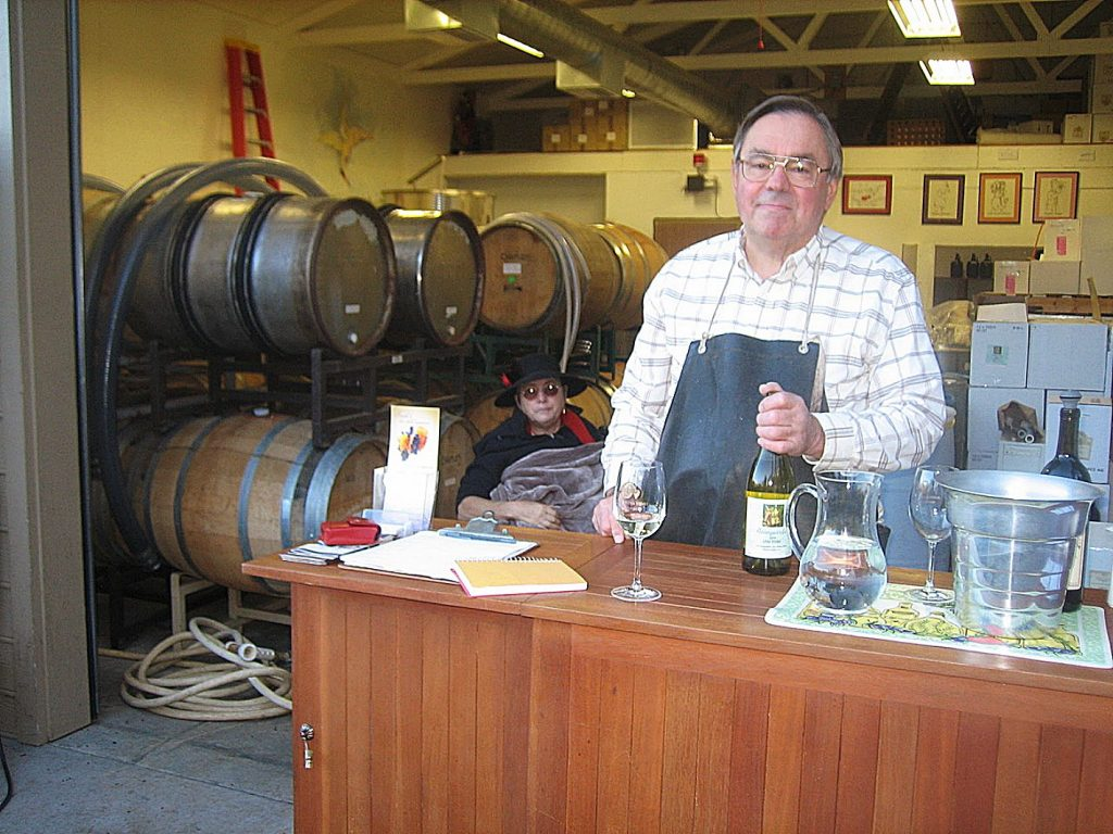 Rob Chrisman, owner/winemaker at Avanguardia.