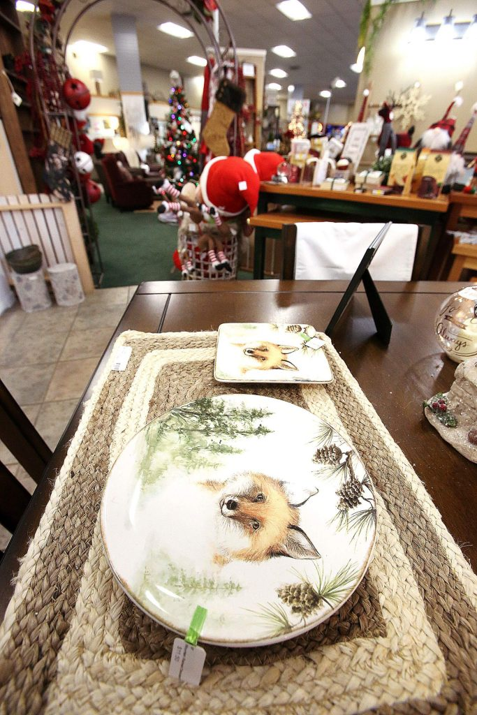 There are still plenty of holiday items for sale at Grande Wood Designs in Grass Valley.