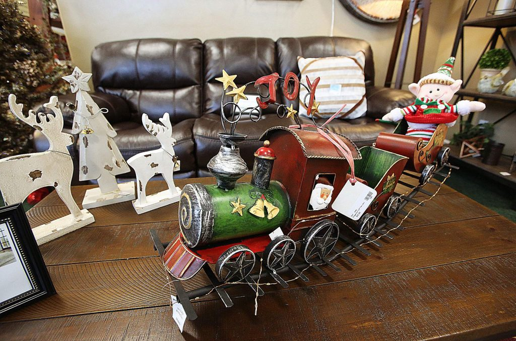 Holiday and home decor items abound at Grande Wood Designs in Grass Valley.