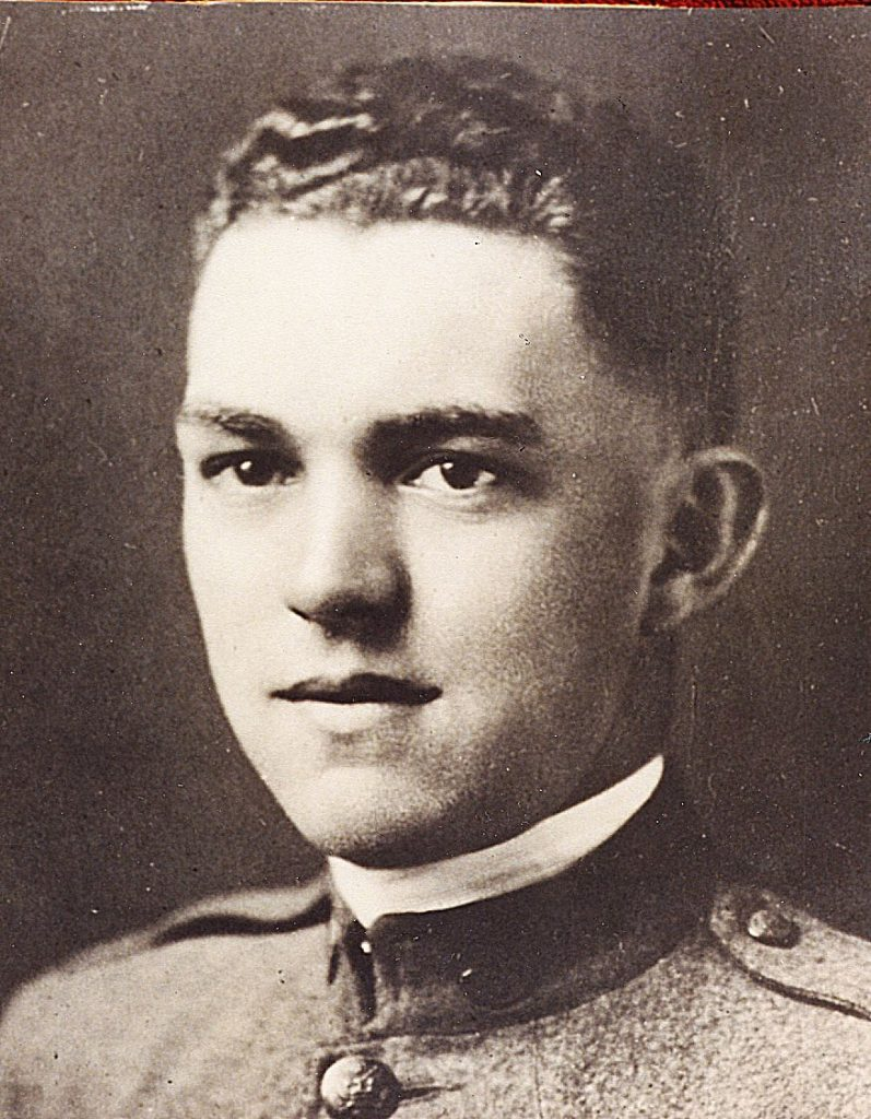 Miner William Hegarty, (1897-1918), was the first Nevada City man killed in World War I.