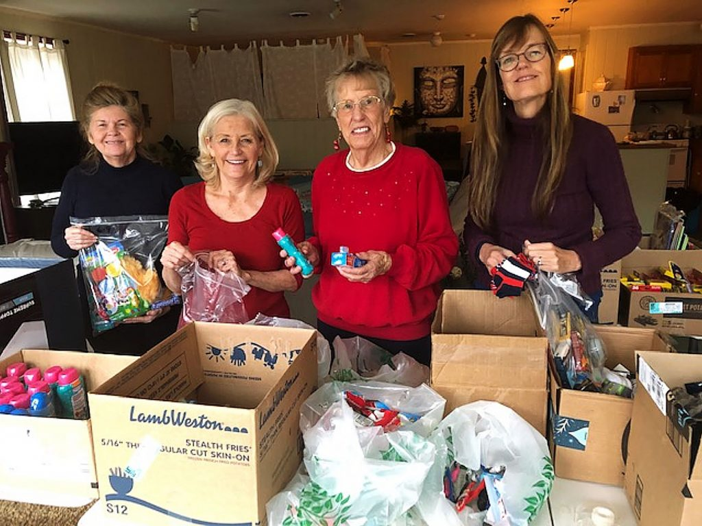 Nevada County volunteers recently hosted a