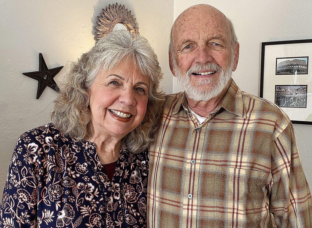 Diane and Frank Kerner live in Grass Valley. Kerner plans to continue flying his ultralight above Western Nevada County.