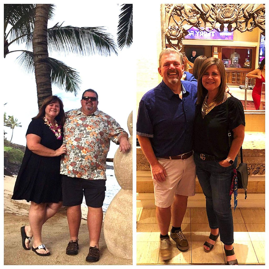 Craig and Denise Johnson found a plan that worked for them, losing a combined 275 pounds over 12 months.