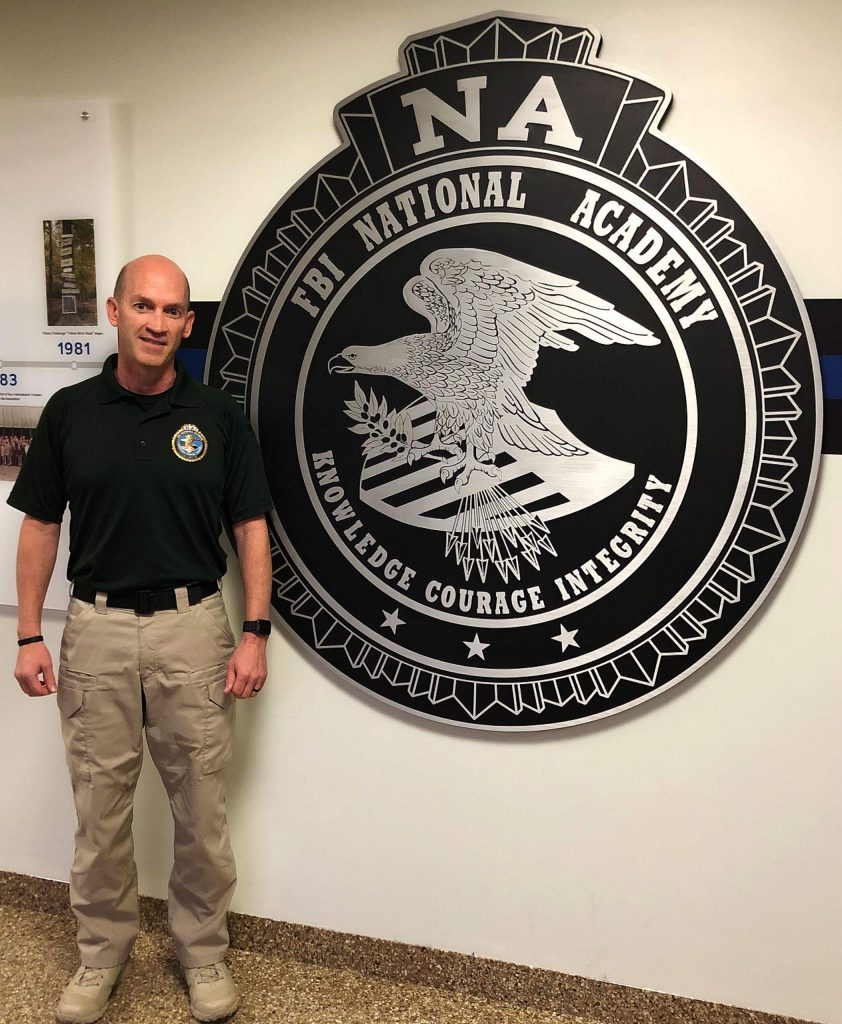 Grass Valley Police Capt. Steve Johnson was hand-picked to join 265 law enforcement professionals from 49 states and 35 other countries at the 11-week long FBI National Academy in Quantico, Virginia.