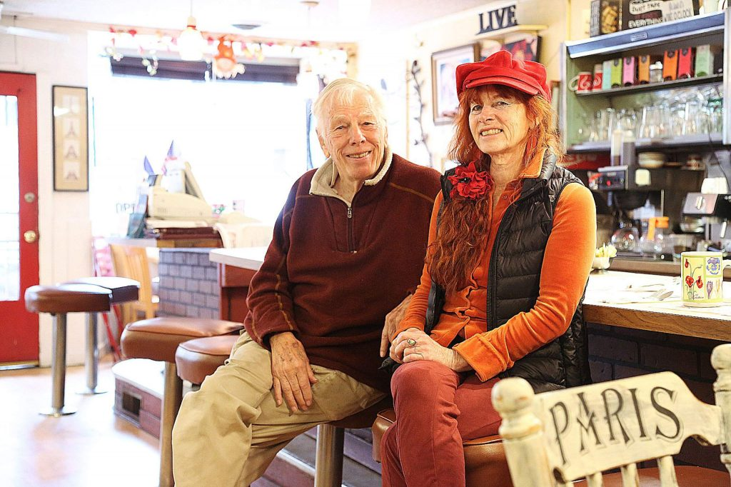 Kirk Valentine and Genevieve Crouzet are the dynamic duo behind Nevada City Classic Cafe on Broad Street.