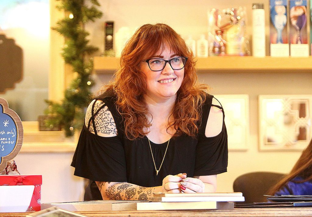 Rachel Baldwin started out as a hairstylist. Now she's the owner of Stray Cuts & Co. in Nevada City.