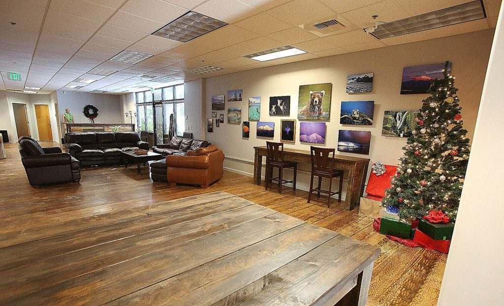 Nevada County Media's new digs on Crown Point Circle is decorated and ready for area creatives to get back to work after moving from their former New Mohawk Drive location.
