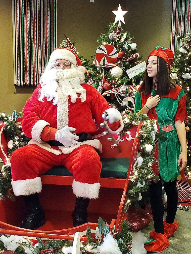 Breakfast with Santa is a festive annual event in Lake Wildwood.