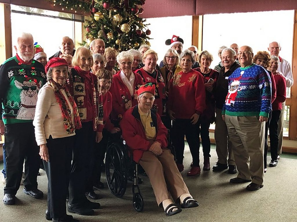 Christmas gathering of the Grass Valley Gold Country Italian American club. Wishing all a very Merry Holiday Season.