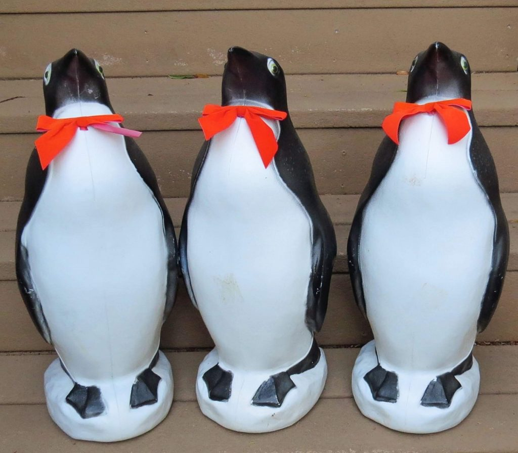 I went to Antarctica in 1993 doing my summer trip from teaching and loved the penguins, so I had to get some for myself.