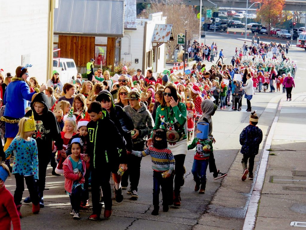 Scenes from the 136th Donation Day Parade. In conjunction with Interfaith Food Ministry, Grass Valley Ladies Relief Society helps feed people in Nevada County.