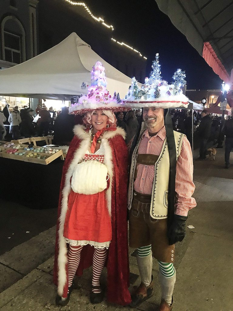 Scenes from the last Cornish Christmas of the year in Grass Valley.