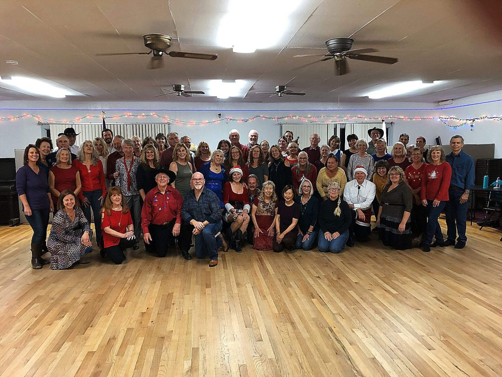 Holiday Dance Party at the Golden Empire Grange.