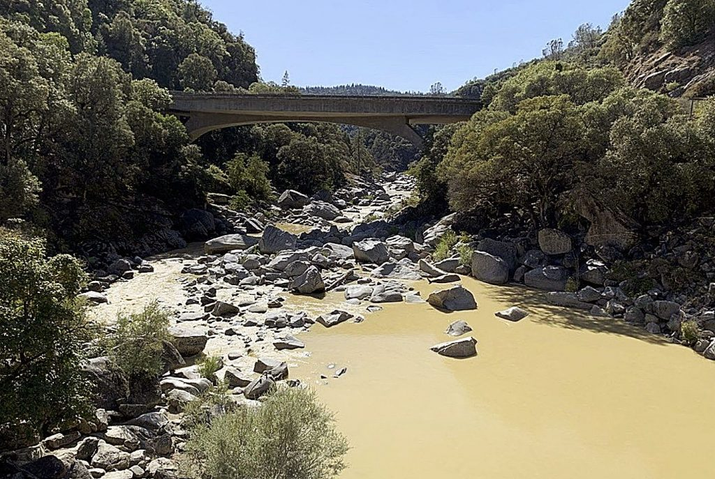 A plume of contaminated water was initially spotted Sept. 20, quickly prompting a no-swim advisory. he South Yuba River.