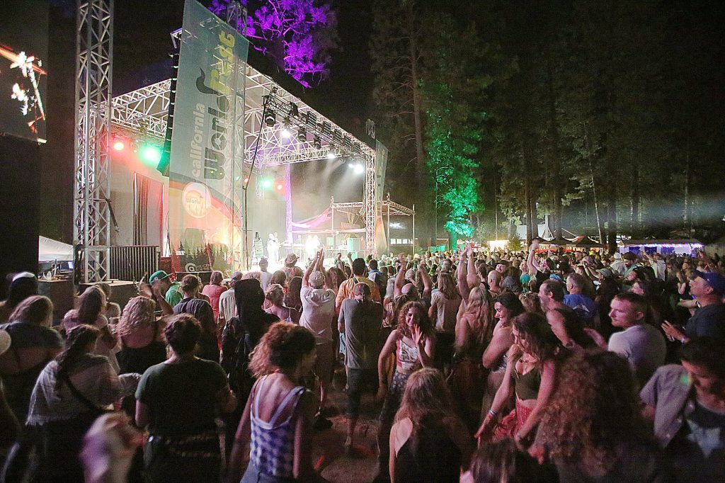 41) WorldFest attendees dance to the classic tunes of reggae artist Toots and the Maytals, who kicked off their West Coast Tour in Grass Valley during the annual July festival.