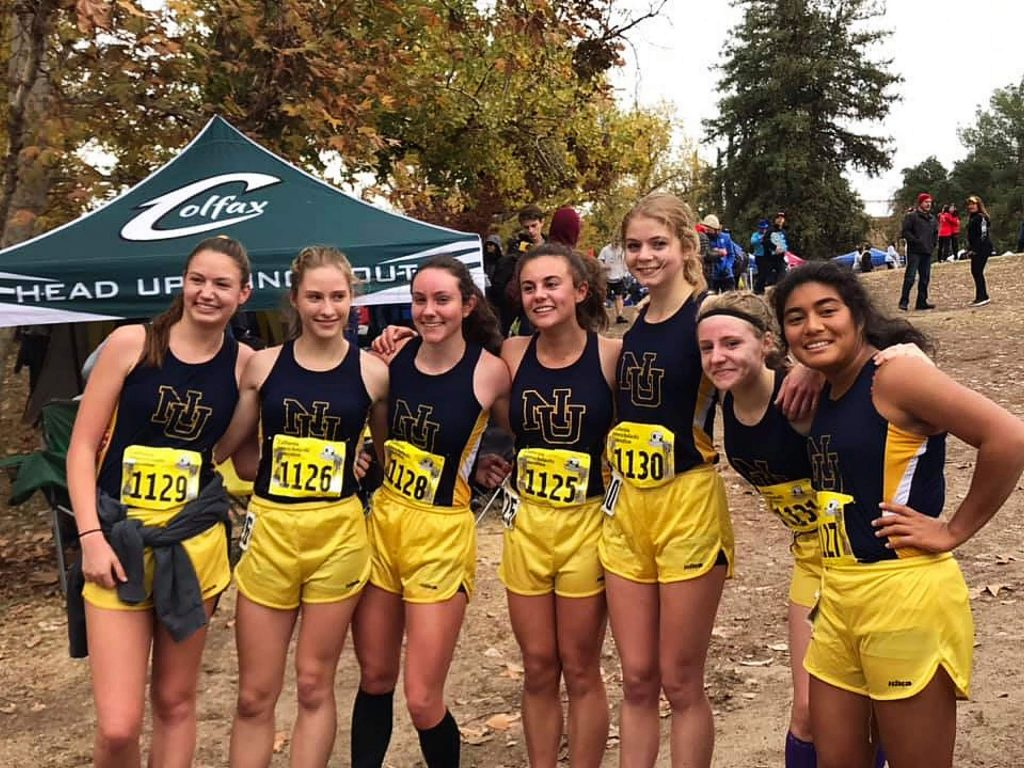 Nevada Union's girls cross country team placed 10th in the CIF State Championship Division 3 race Saturday at Woodward Park in Fresno.