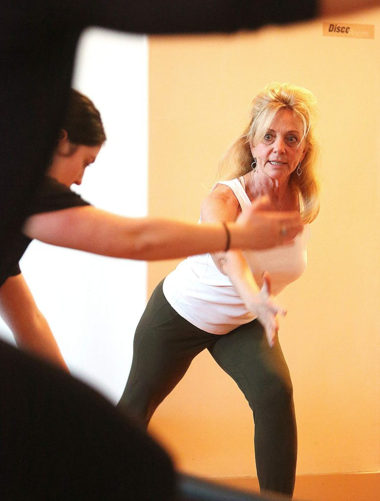 Roxanna Cohen of The Pilates Place leads a class Wednesday in downtown Grass Valley. Cohen was concerned what the passing of AB 5 would do to her independent contractors. Now Cohen is open to her workers becoming employees.