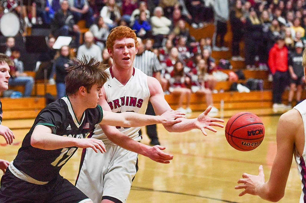 Bear River's Brad Smith scored 12 points, grabbed seven rebounds and nabbed five steals in the Bruins' 62-52 win over Colfax Tuesday night at Jack R. McCrory Gymnasium.