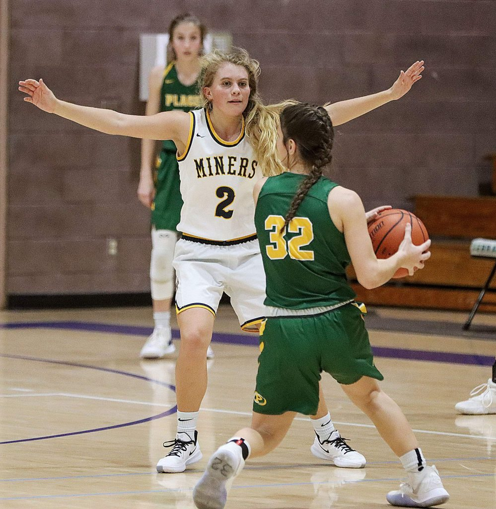 Nevada Union's Reese Wheeler does a little bit of everything for the Lady Miners basketball team. The senior guard is a fierce defender as well as a skilled dribbler and passer.