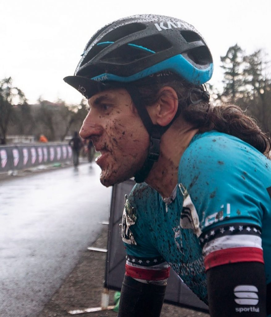Jonathan Baker captured USA Cycling's Masters (45-49) Cyclocross National Championship Dec. 12, 2019. It was his second USA Cycling National Championship in 2019. He also won the Masters (45-49) road race in Colorado Springs, Colorado in August 2019.