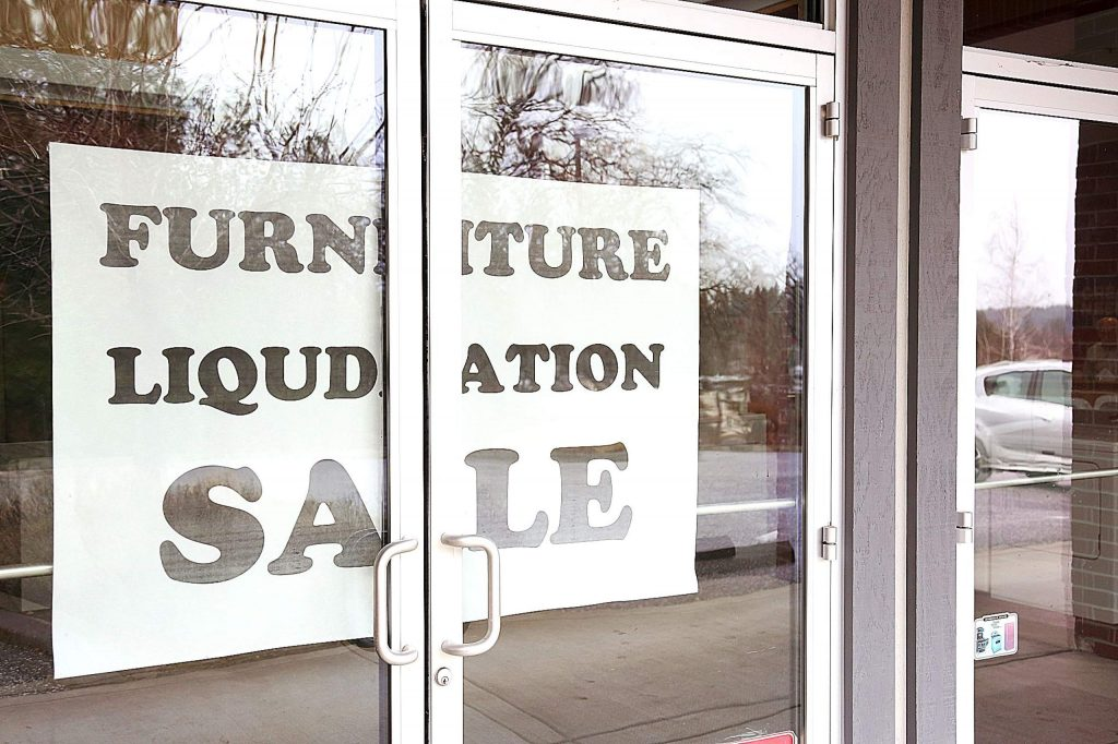 Big 1 Appliance store off Sutton Way has announced that it will be closing its doors. A furniture liquidation sale has commenced.
