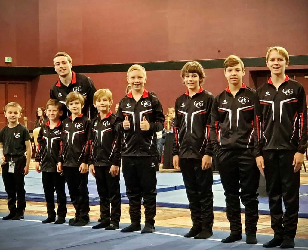 Gold Country Gymnastics' Level 4 and Level 5 teams shined at the Jake Dalton Invitational in Reno. The Level 4 team placed second as a group, and the Level 5 group took third as team.