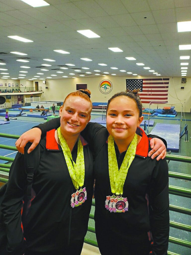 Gold Country Gymnastics' Level 7 girls found success at the recent Wildflower Invitational in Oroville.