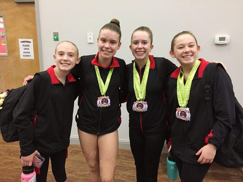 Gold Country Gymnastics' XCEL team impressed at the recent Wildflower Invitational in Oroville.