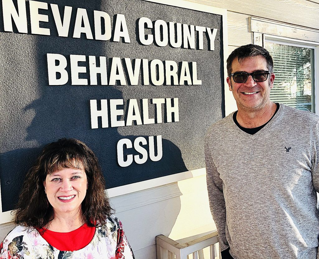 From left, registered nurse Sandy Farley and manager of crisis services Todd Arvidson oversee the Crisis Stabilization Unit, which is located adjacent to the emergency department at Sierra Nevada Memorial Hospital.