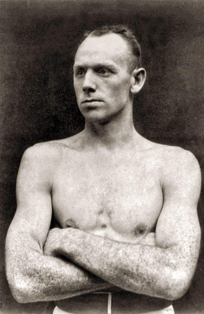 On April 25, 1898, heavyweight boxer Bob Fitzsimmons was at home with his family in New York City.