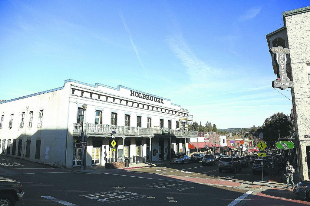 Renovations are nearing completion on the historic 28 room Holbrooke Hotel in downtown Grass Valley. The renovation of the building's kitchen is one of the final projects to be completed in the 160 year old building.