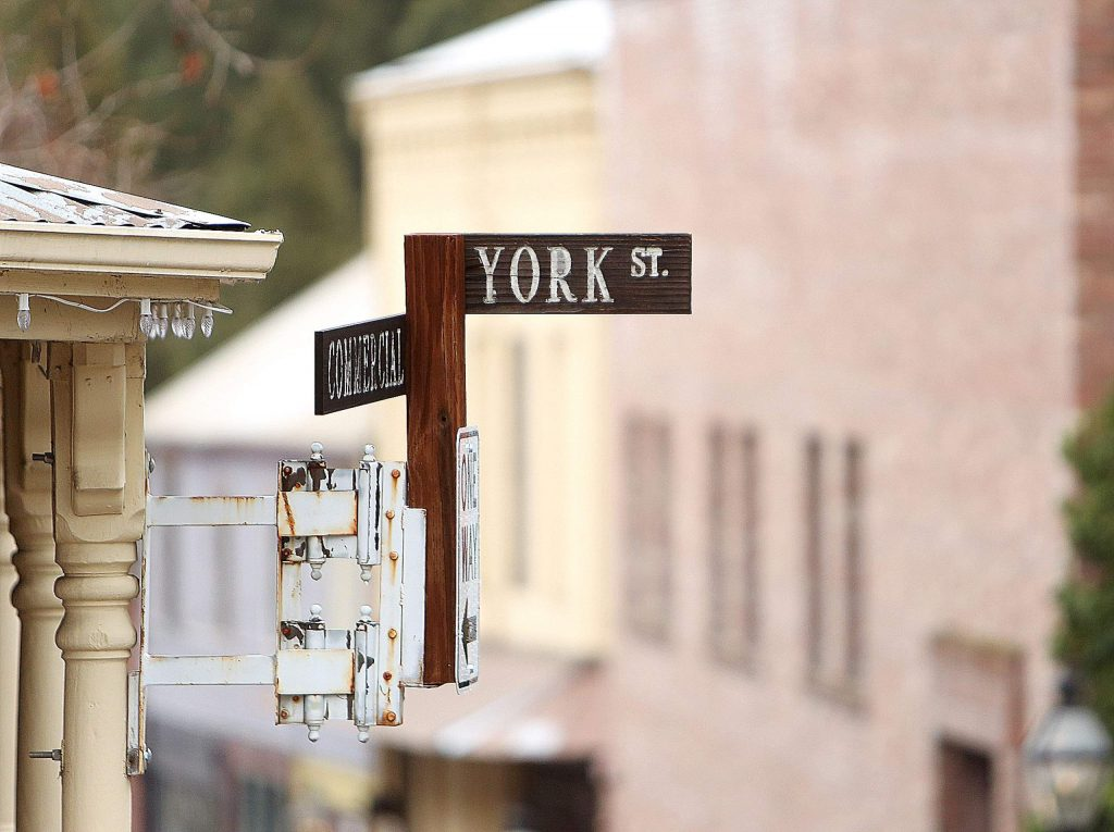 York Street between Commercial and Broad streets will remain a one-way street.