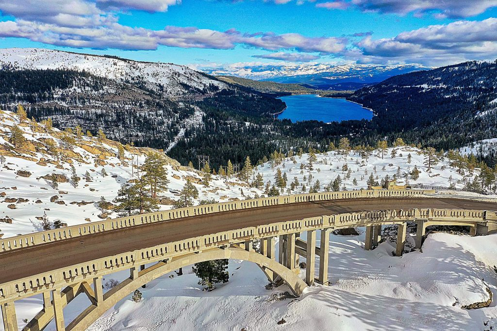 Donner Lake on Monday, Dec. 30, 2019.