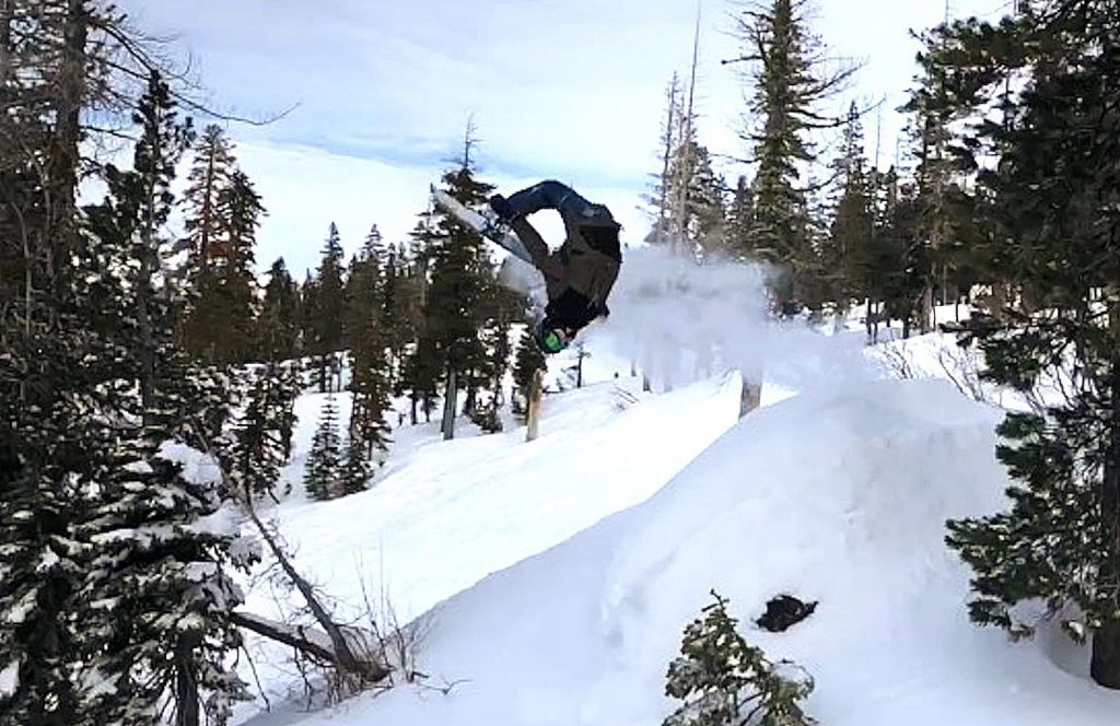 Ryan Bodine, who was injured on Jan. 20, has long been active in many sports, including soccer, climbing, surfing, scuba diving and snowboarding.