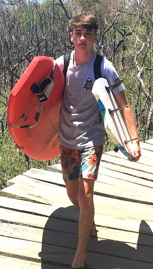 Ryan Bodine, a Nevada Union High School senior hopes to engage in environmental studies in college — in part because his experiences surfing instilled him with an appreciation of the sea.