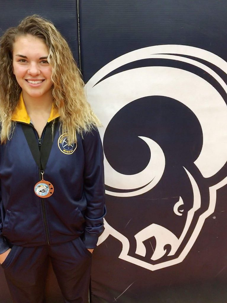Nevada Union's Amanda Beall has shined at tourneys all season, collecting multiple medals along the way.
