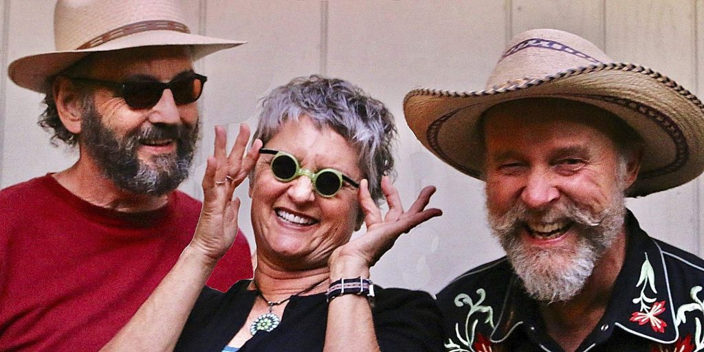 Joe Craven, Tracy Walton and Bill Edwards - AKA Way Out West - return to Nevada City on their 2020 reunion tour playing their own brand of American roots and swing music on Saturday, Feb. 1 as part of Paul Emery's Nevada City LIVE! Concert series.