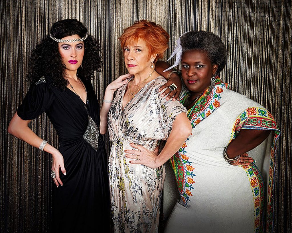 The Velvet Foxes, featuring, from left, Cassidy Joy, Lorraine (Lolo) Gervais and Alvetta Newby-Jones, will provide the disco tunes at Friday's Love is Love is Love Valentine's Day event.