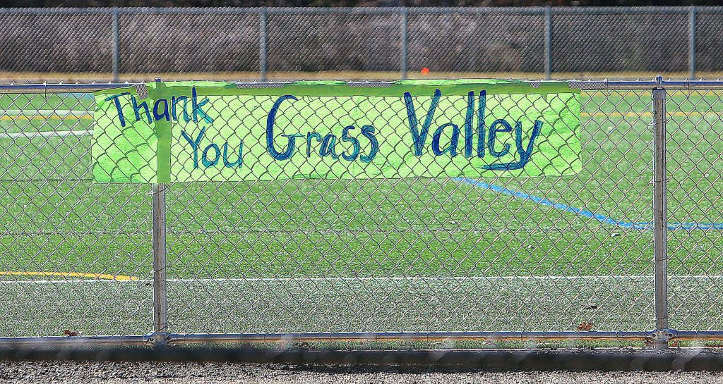 Grass Valley was instrumental in making the Lyman Gilmore synthetic turf field a reality with its partnership with the Grass Valley School District.