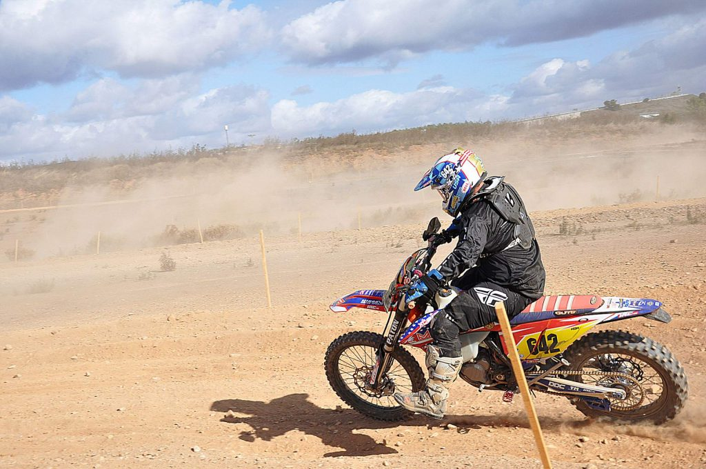 Anson Maloney, from Grass Valley, earned a gold medal at the 2019 International Six Day Enduro race, held in November in Portimao, Portugal.