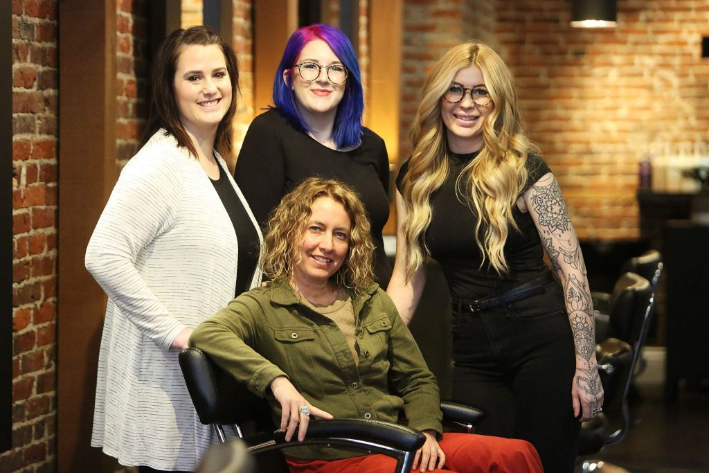The ladies at Bel Capelli Salon in downtown Nevada City are here to meet clients' every hairstyle need.