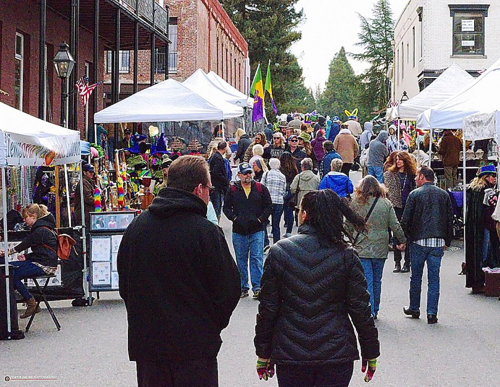 Attendees to the street fair can find the last accessories for the perfect costume, shop hand-made gifts or pick up some extra beads for friends.