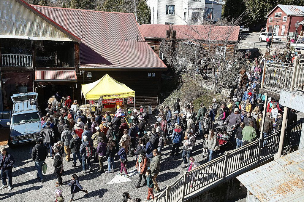 The Miners Foundry teamed up with Community Asian Theatre of the Sierra to host the Ninth Annual Nevada City Chinese Lunar New Year Festival and Parade for the year of the rat.