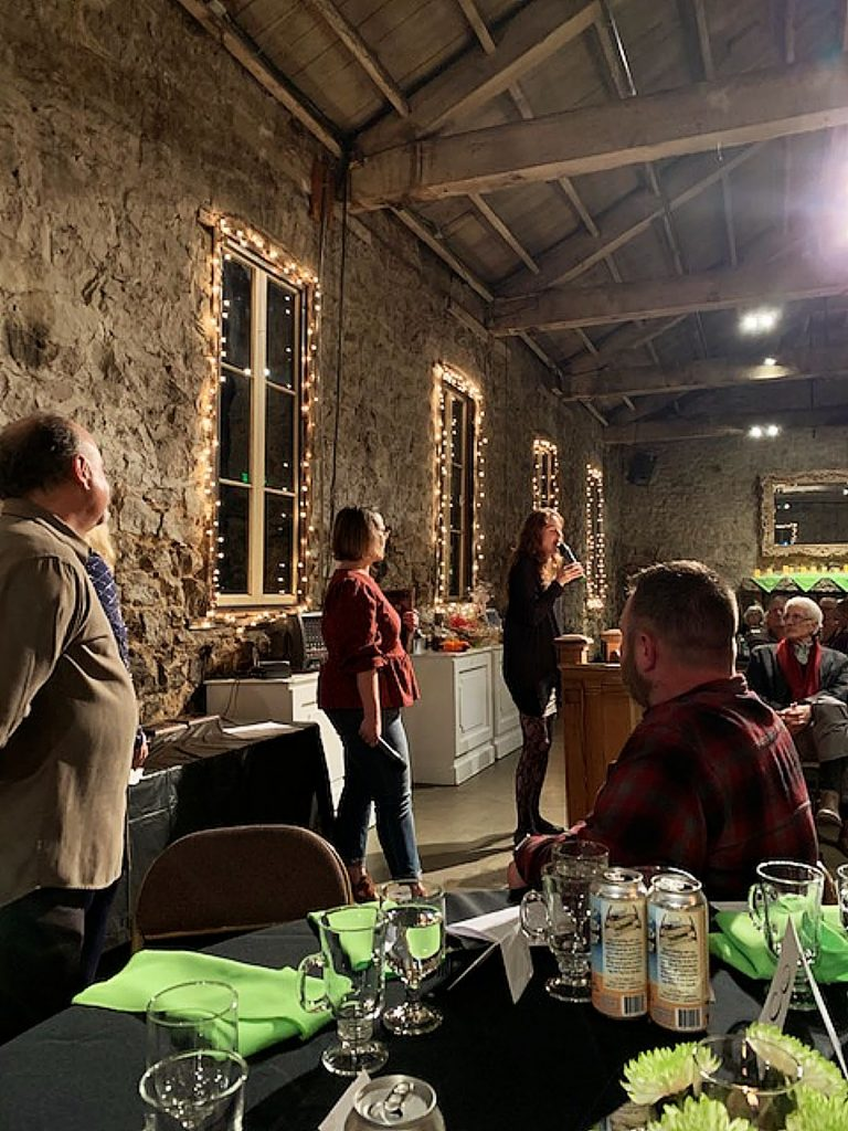 SYRCL being recognized at the Nevada City Chamber of Commerce dinner on February 1 at The Miners Foundry in Nevada City.