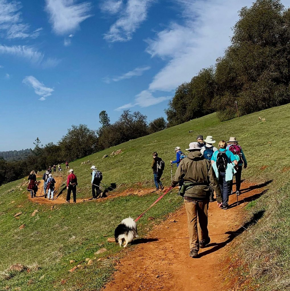 Another beautiful hike with the German American hiking club on February 6 at Hidden Falls Regional Park in Auburn.