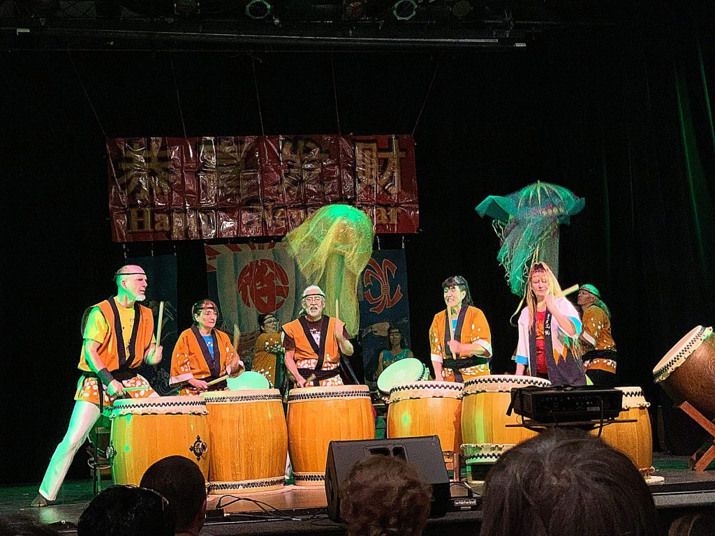 The Chinese New Year's Festival took place at the Miners Foundry on Sunday, Feb. 9, 2020. It was fantastic! There were Hawaiian dancers, the Taiko drummers and lots of other performers.