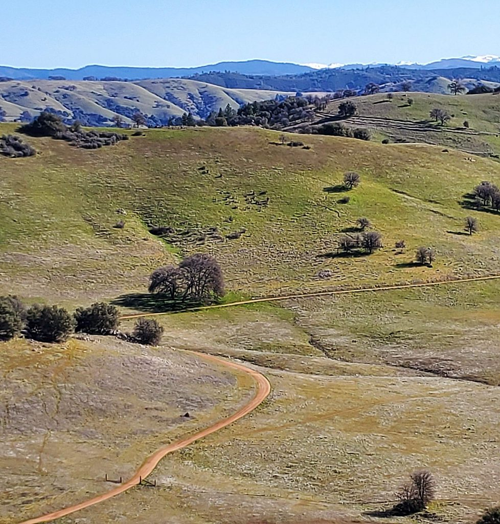 Hiking at Cronan Ranch with Sierra Outdoor Sports Club.