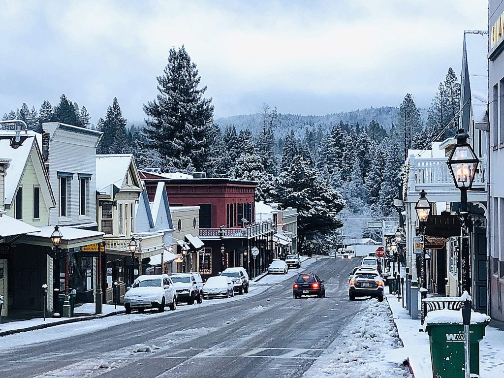 Downtown Nevada City!