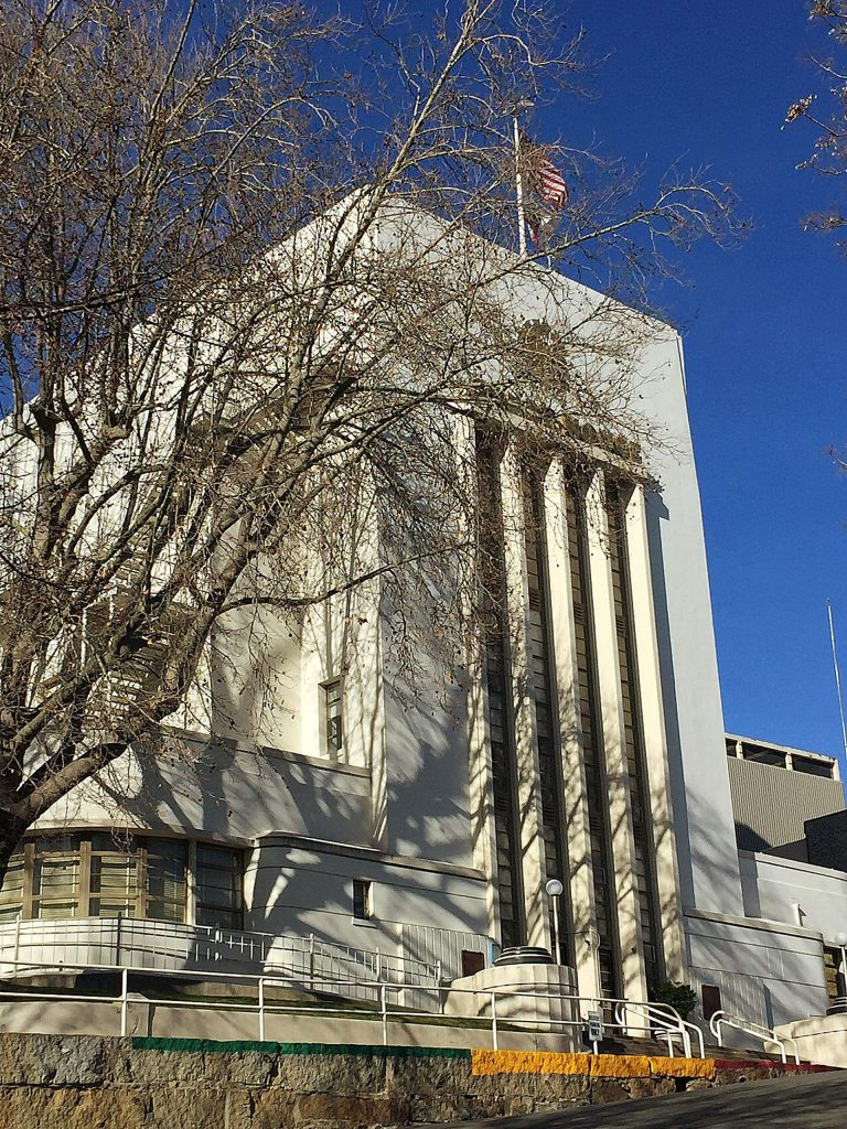 Majestic Nevada City Courthouse on a lovely spring-like day. Seeing it always makes me smile.