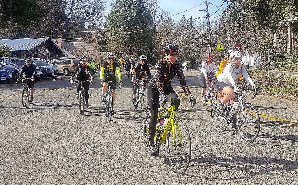 The 10th annual Jim Rogers Memorial Ride & Run gets underway Sunday morning, leaving the Tour of Nevada City bicycle shop to promote awareness of the dangers of distracted driving.